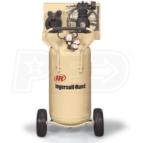 Ingersoll Rand Ss3r2 Gm 24 Gallon Vertical Belt Drive Air